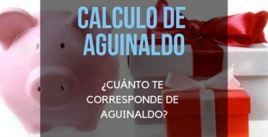 Calculo de aguinaldo en uruguay