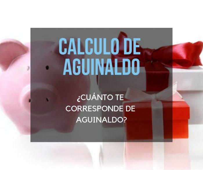 calculo de aguinaldo