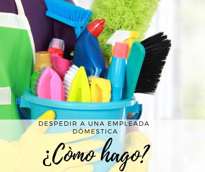 despedir empleada domestica